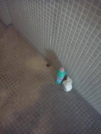 竹原屋本店の☆トイレ改修☆入口ドア(オーダー品)(*^▽^*)の施工前の写真2