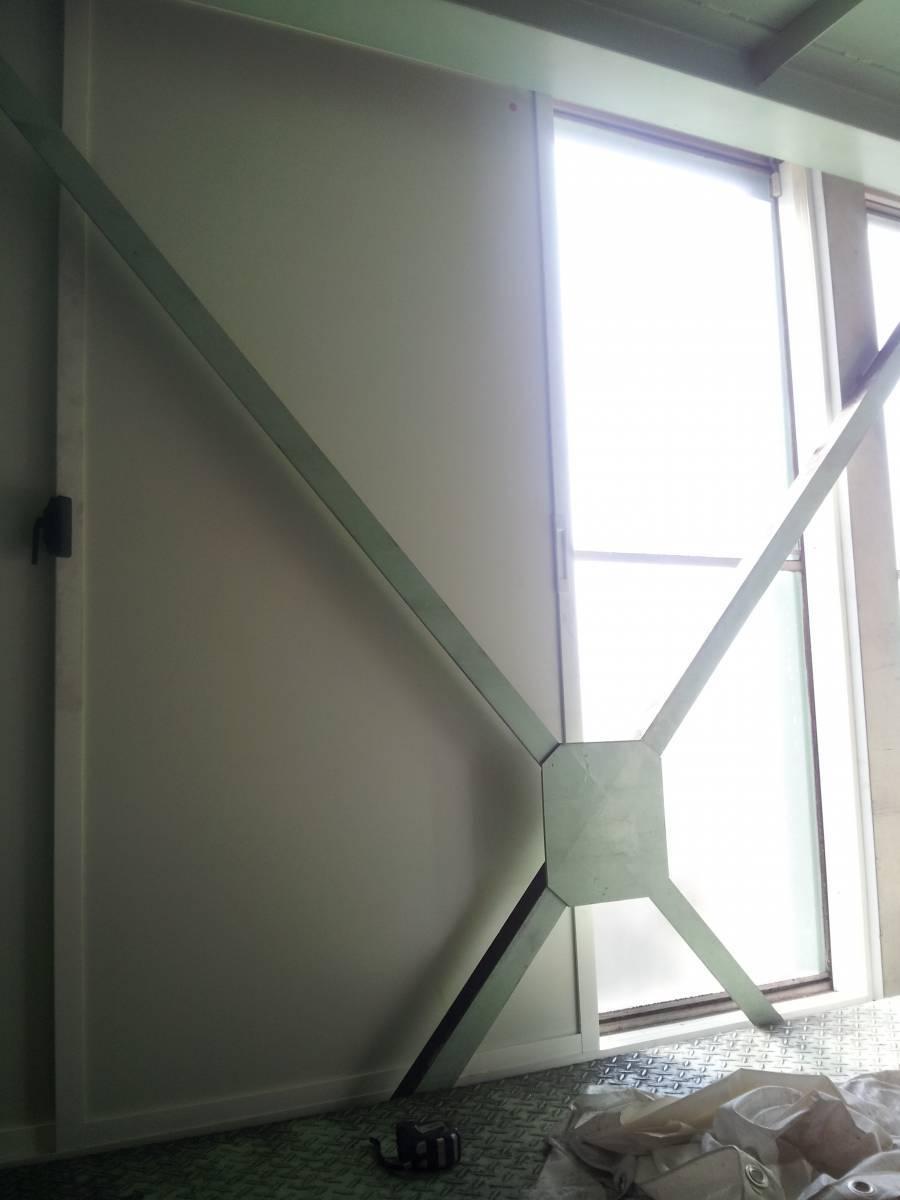 竹原屋本店の☆製品倉庫の遮光対策☆薄型の内窓設置(^O^)/の施工後の写真1