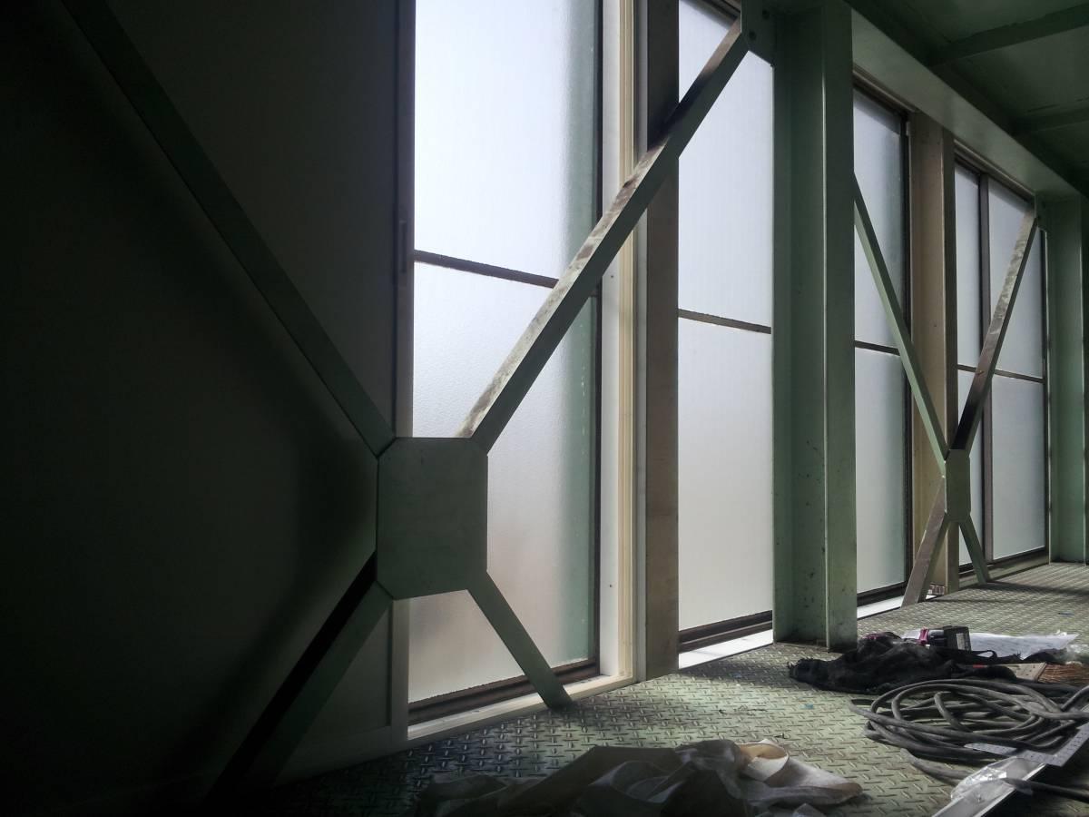 竹原屋本店の☆製品倉庫の遮光対策☆薄型の内窓設置(^O^)/の施工後の写真2
