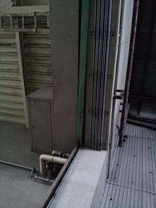 竹原屋本店の☆食料倉庫☆巨大ハンガー式網戸を設置(^O^)/PARTⅠの施工後の写真1