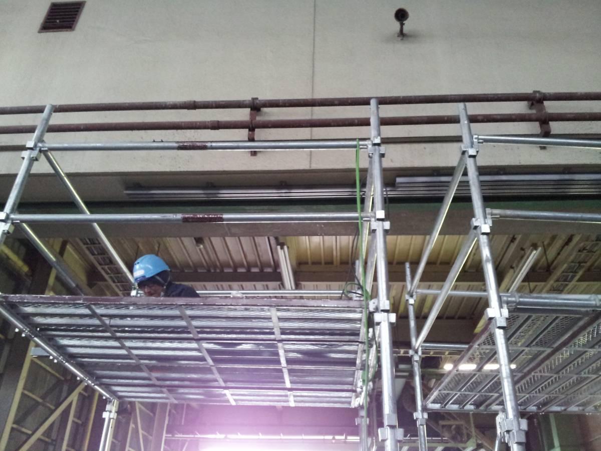 竹原屋本店の☆食料倉庫☆巨大ハンガー式網戸を設置(^O^)/PARTⅠの施工前の写真1