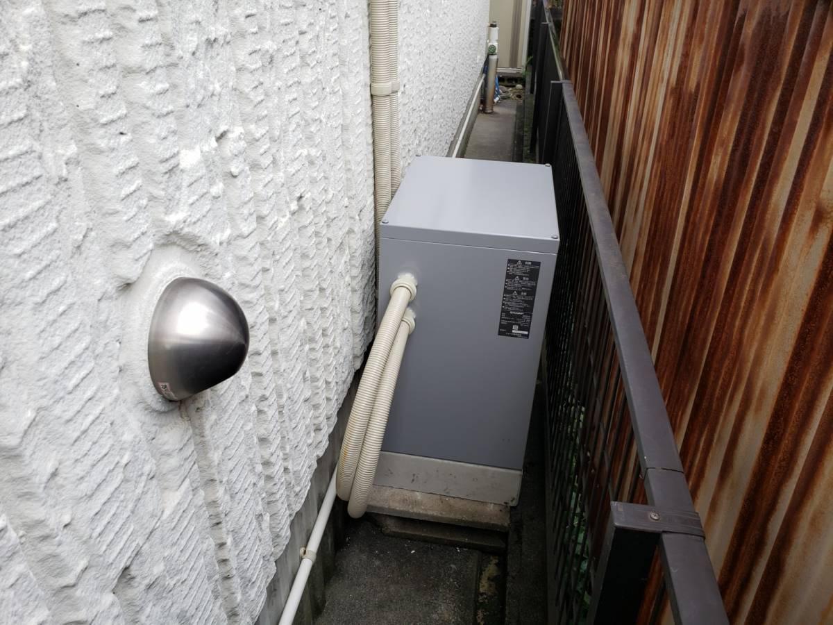 セレックスの蓄電池の設置の施工後の写真2