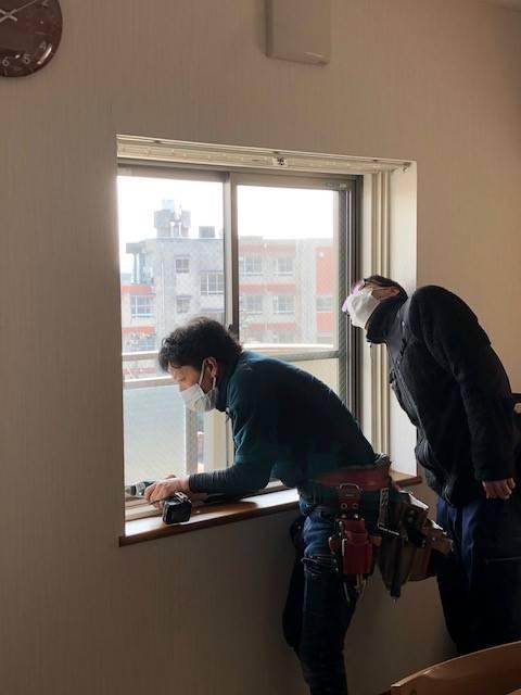 セレックスのインプラス 内窓 設置の施工前の写真2