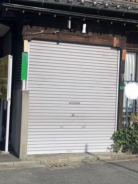 小林エコ建材のシャッターの開け閉めが大変で・・の施工前の写真2