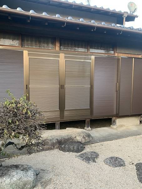 小林エコ建材の古くなった木製雨戸、取り替えられますか?の施工後の写真1