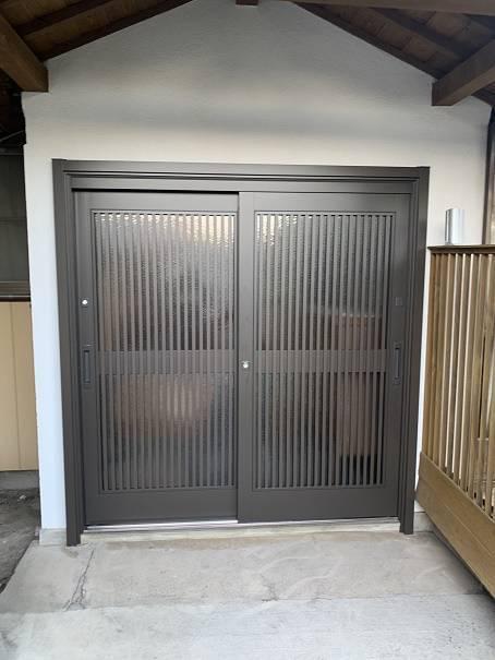 小林エコ建材の鍵が壊れて開かなくなった玄関、出入りが不便ですの施工後の写真1