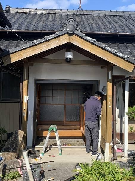 小林エコ建材の鍵が壊れて開かなくなった玄関、出入りが不便ですの施工前の写真2