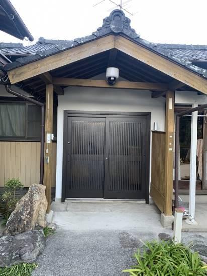 小林エコ建材の鍵が壊れて開かなくなった玄関、出入りが不便です施工事例写真1
