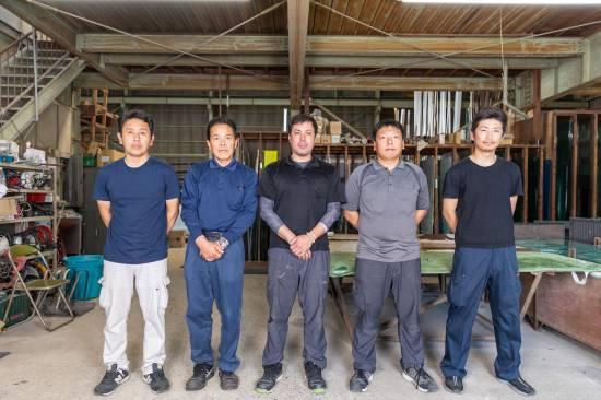 工事担当の写真
