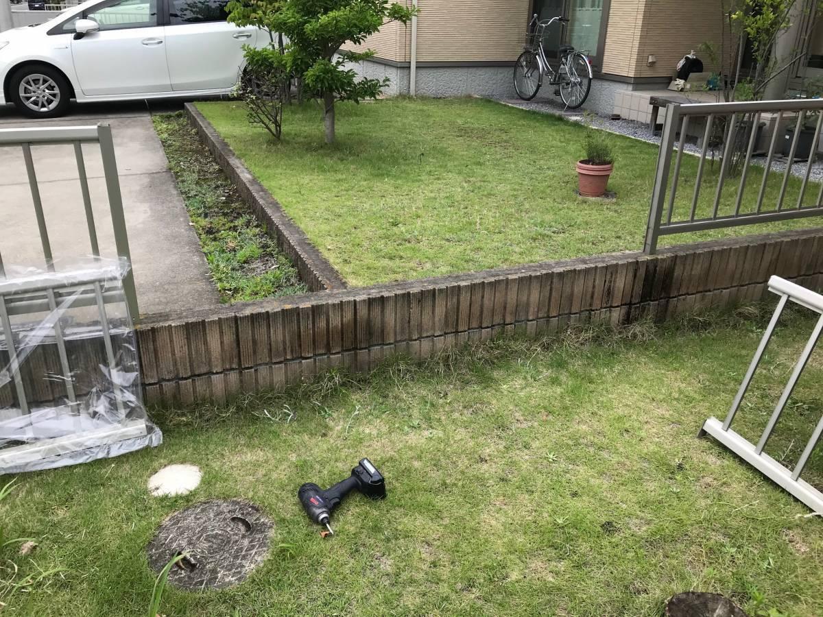 まどありー。のフェンス交換の施工後の写真1
