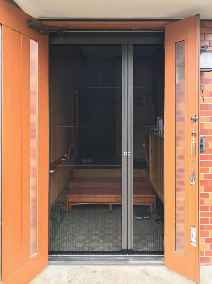 まどありー。の玄関に網戸を(写真の向きを改善)の施工前の写真1