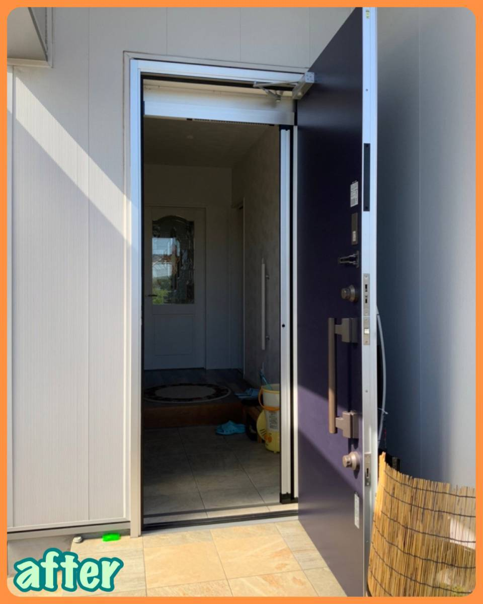 MITSUWA 西尾の玄関だって換気したい!の施工後の写真1