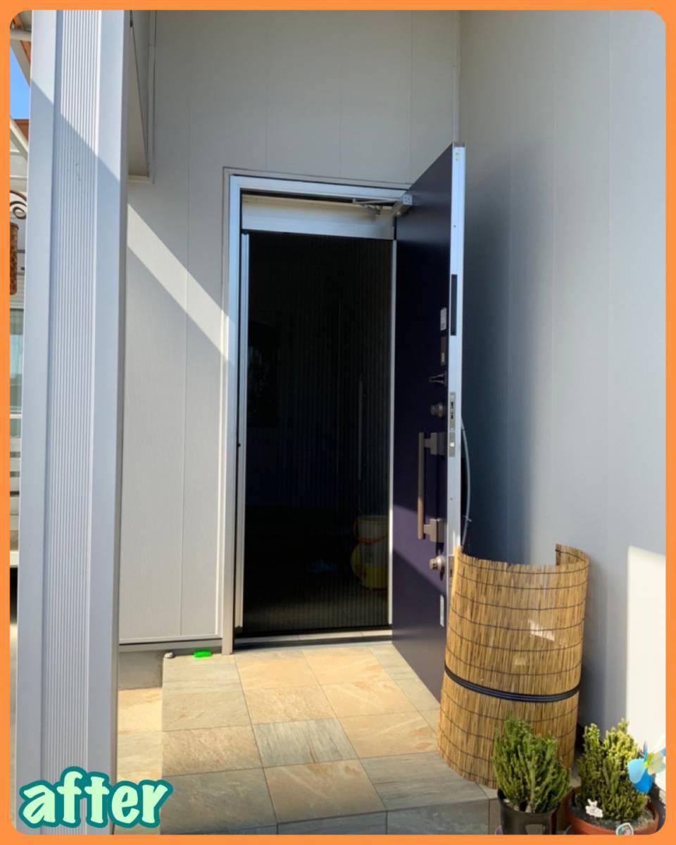 MITSUWA 西尾の玄関だって換気したい!の施工後の写真2