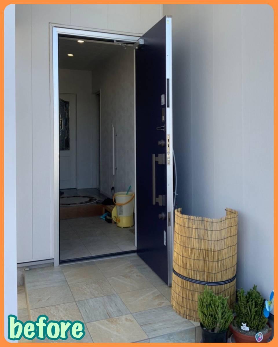 MITSUWA 西尾の玄関だって換気したい!の施工前の写真1