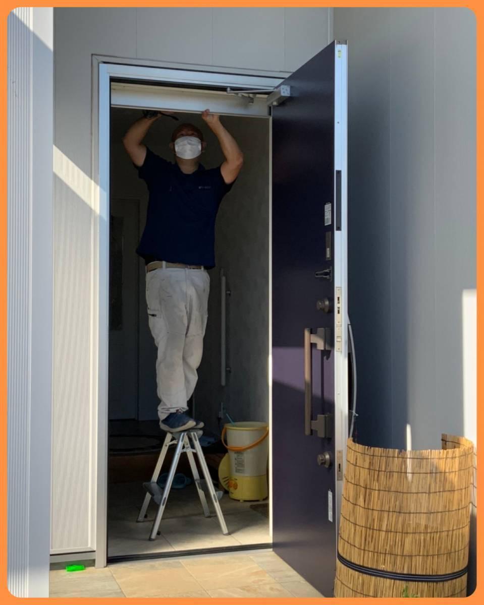 MITSUWA 西尾の玄関だって換気したい!の施工前の写真3