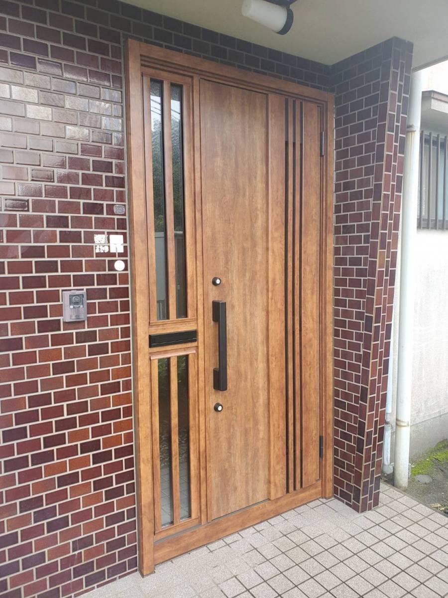 ツカサトーヨー住器の☆リシェント玄関ドア工事☆の施工後の写真2