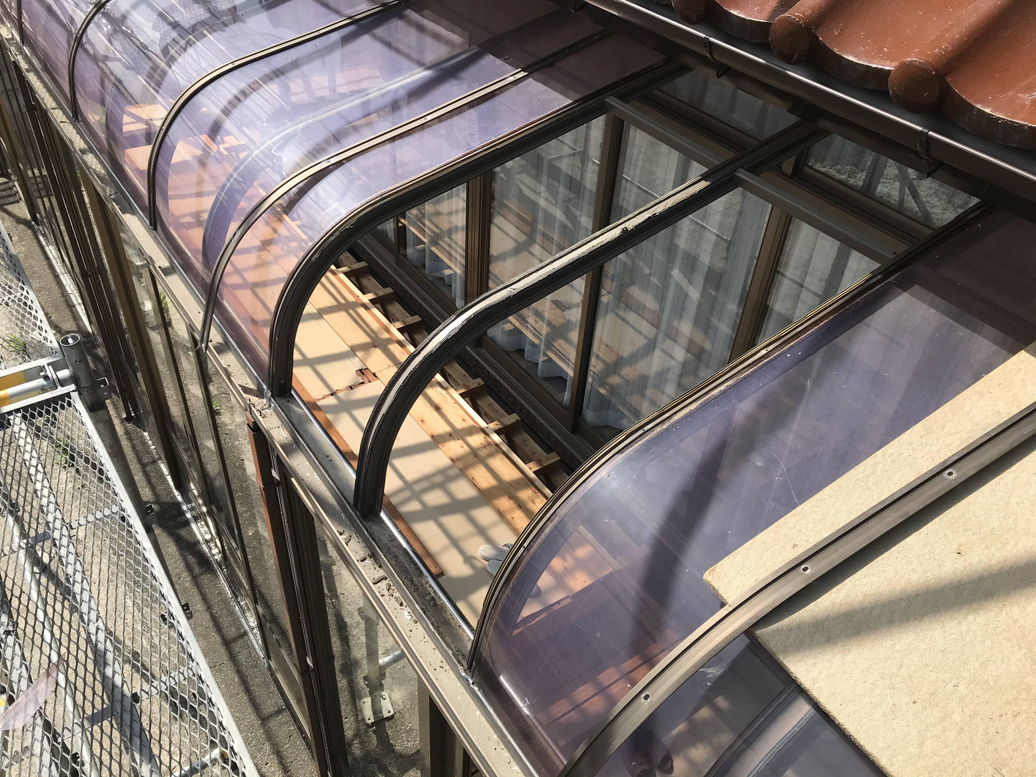屋根パネルの交換 名取トーヨー住器の現場ブログ 写真1