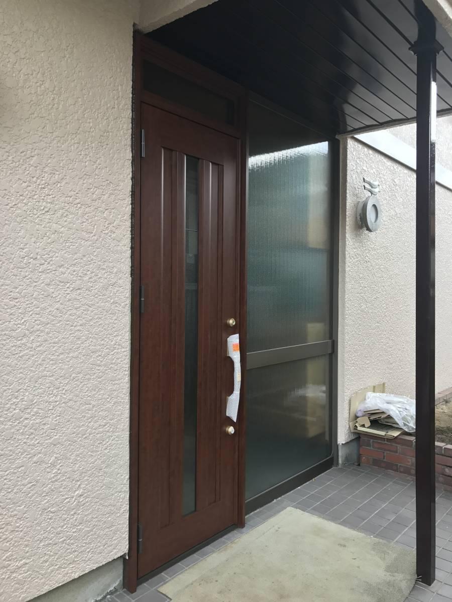 すまい:Reの0007 玄関ドア工事の施工後の写真1