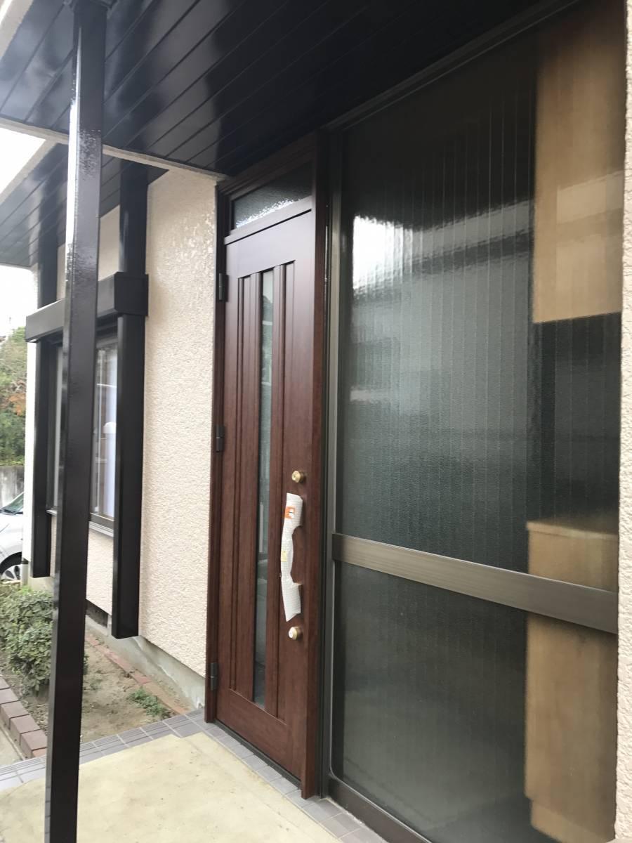 すまい:Reの0007 玄関ドア工事の施工後の写真2