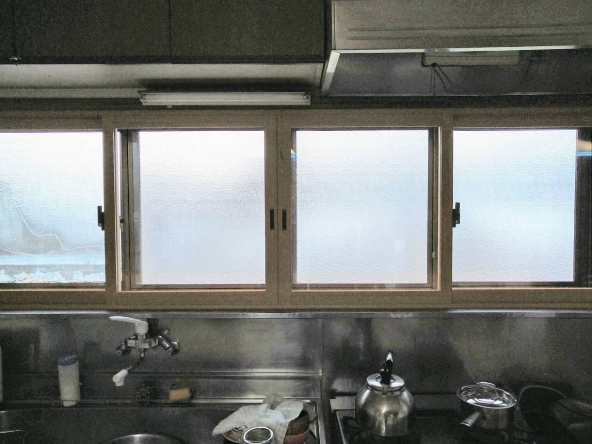 大木建装硝子の寒さ対策 リフォーム工事の施工後の写真1