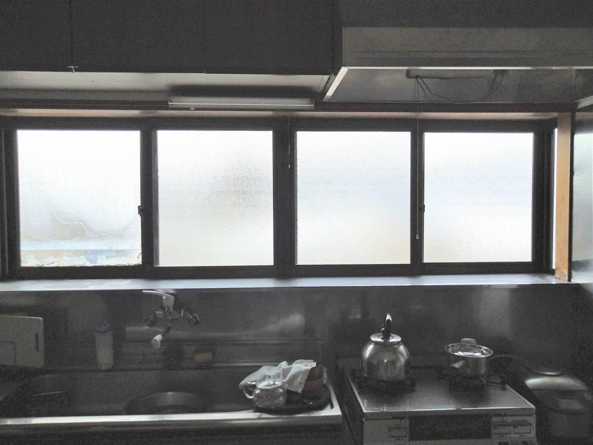 大木建装硝子の寒さ対策 リフォーム工事の施工前の写真1