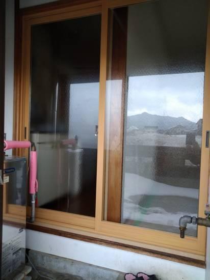 大木建装硝子の寒さ対策 リフォーム工事施工事例写真1