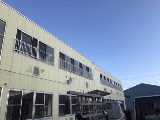 海老名トーヨー住器のアルミ面格子取付施工事例写真1