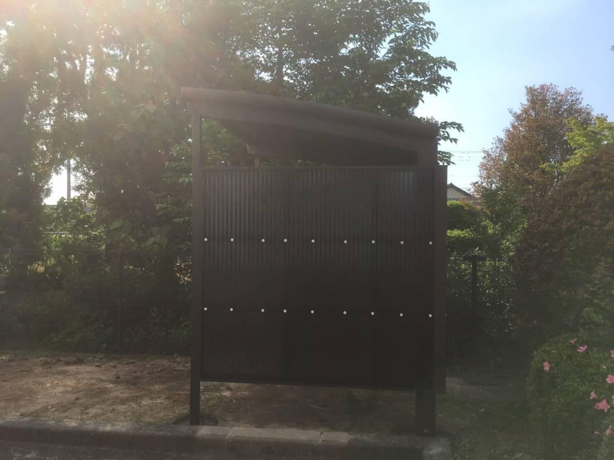 大和アルミトーヨー住器のサイクルポート取付の施工後の写真2