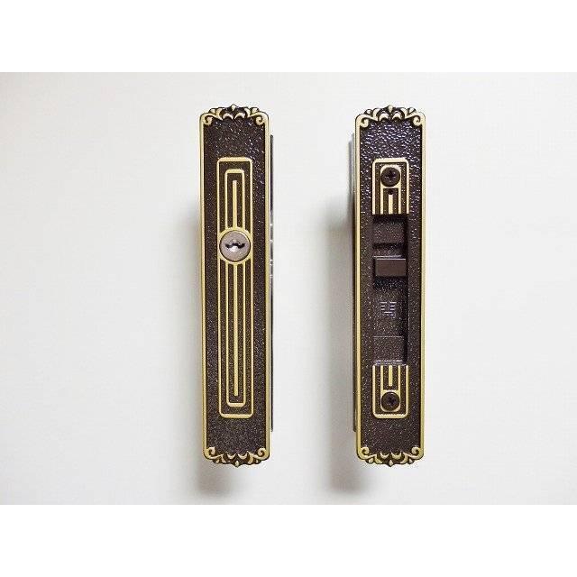 大和アルミトーヨー住器の玄関引手・召合せ錠交換をさせていただいましたの施工後の写真1