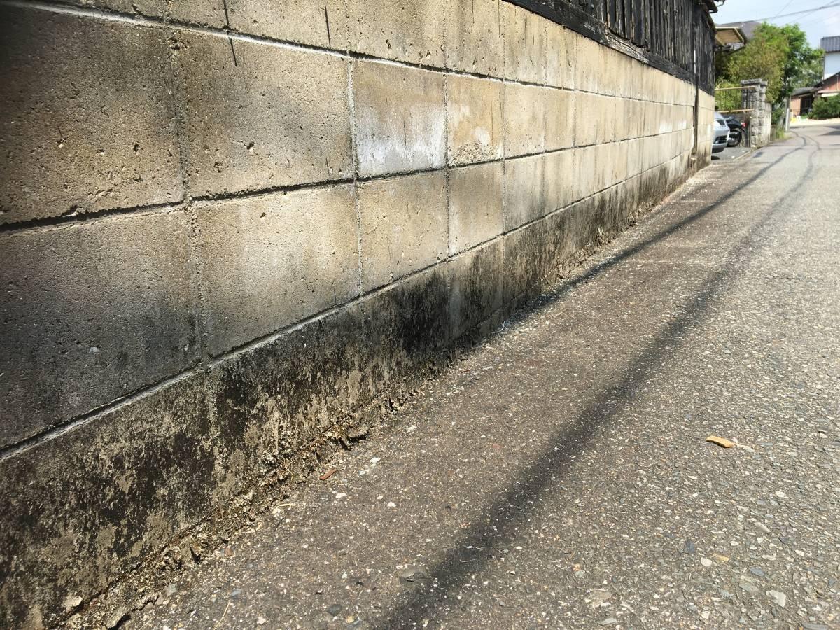大和アルミトーヨー住器のフェンスを追加し、防犯対策の施工前の写真3