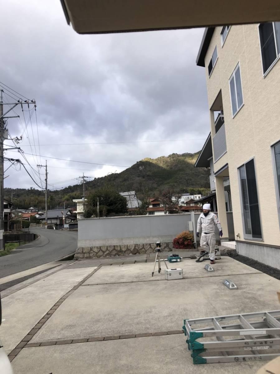 SHL呉のカーポート施工例の施工前の写真2