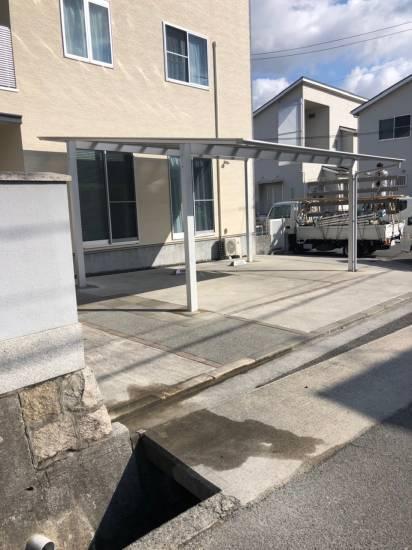 SHL呉のカーポート施工例施工事例写真1