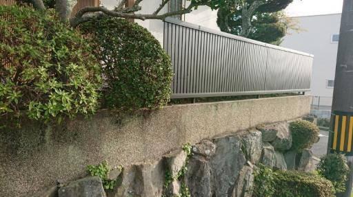 阪神北トーヨー住器のフェンス工事の施工後の写真1