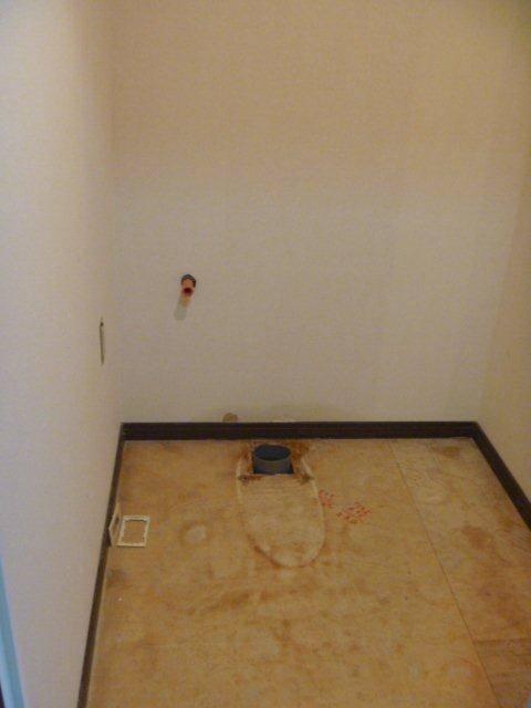 阪神北トーヨー住器のトイレ取替施工例の施工前の写真1