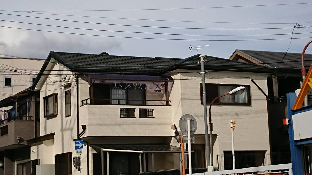 阪神北トーヨー住器の屋根工事の施工後の写真1