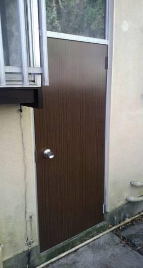 大成トーヨー住器のドア本体交換施工事例写真1