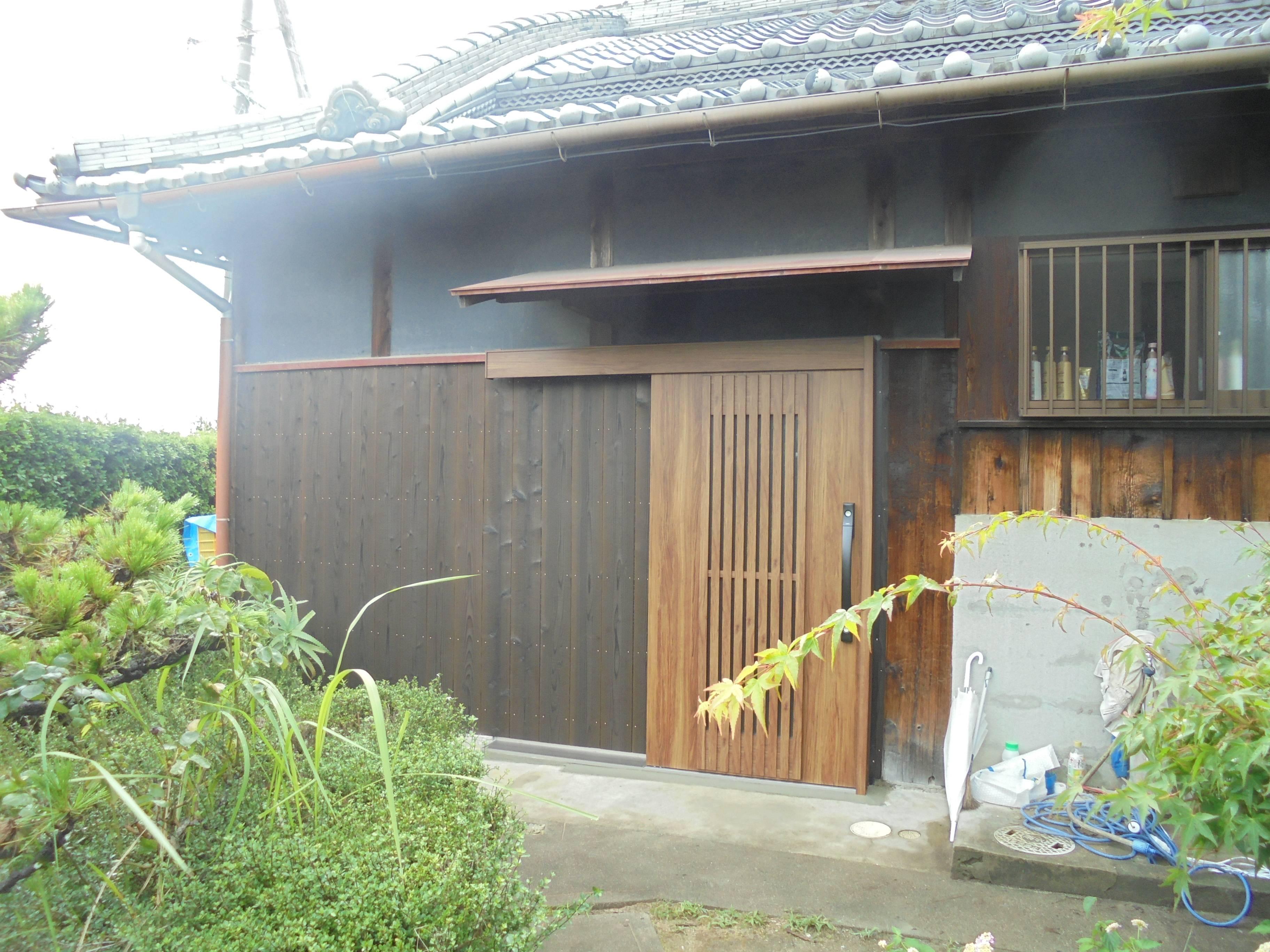 古くなった玄関を取り替えて、毎日の出入りを快適に。 北摂トーヨー住器の現場ブログ 写真2