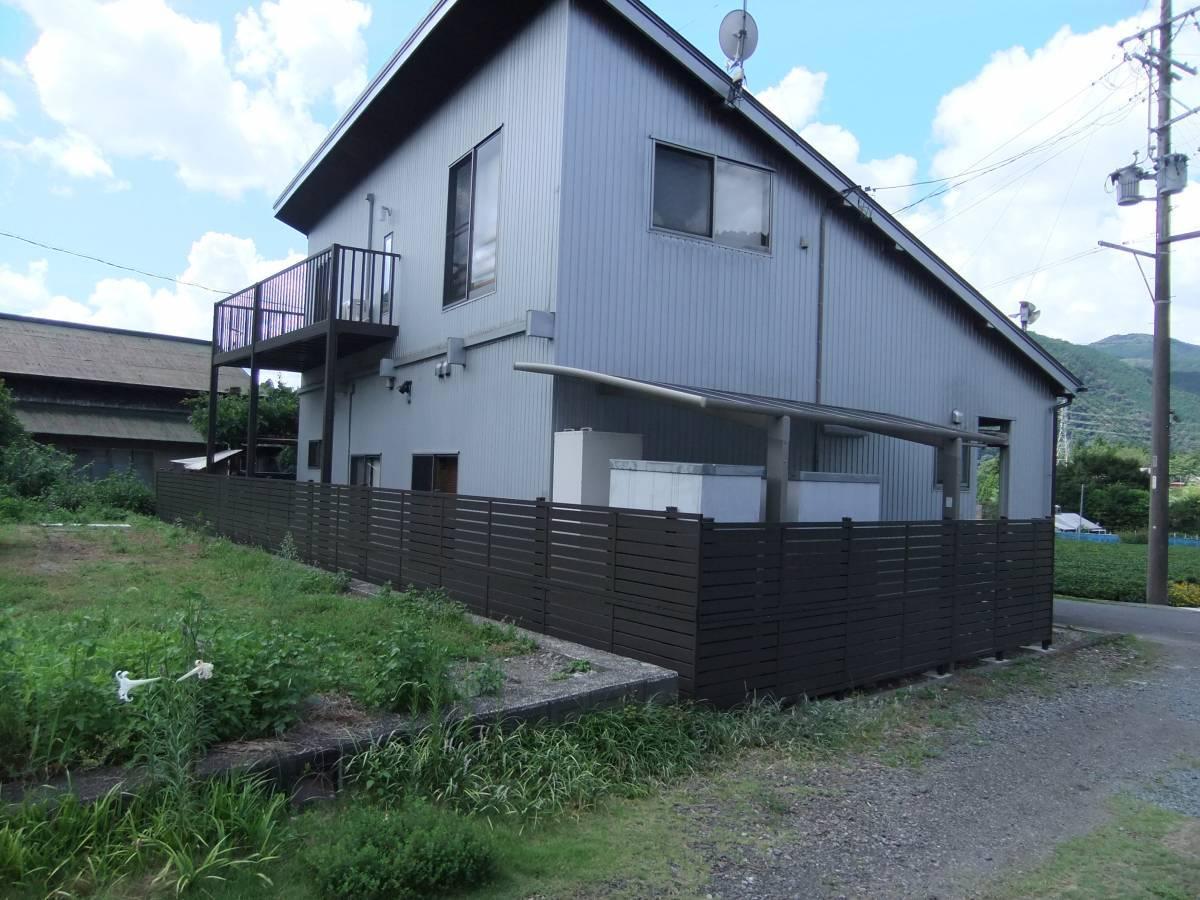 松井トーヨー住建のフェンス・ベランダの撤去と取付の施工後の写真2