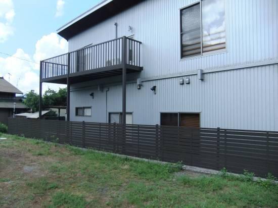 松井トーヨー住建のフェンス・ベランダの撤去と取付施工事例写真1