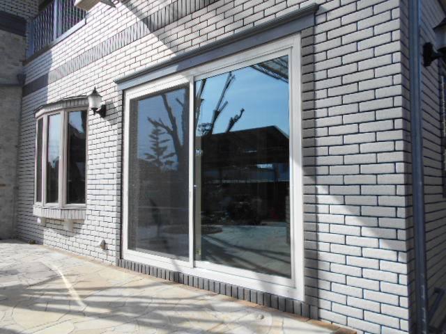 サッシセンターフジイ 名古屋西店のサッシ取替 リプラス取付工事の施工後の写真1