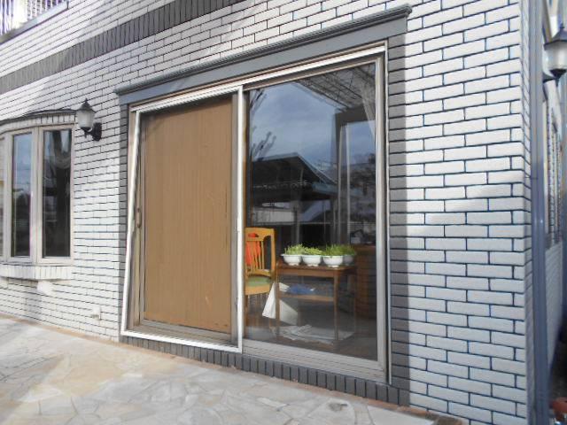 サッシセンターフジイ 名古屋西店のサッシ取替 リプラス取付工事の施工前の写真1