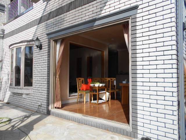 サッシセンターフジイ 名古屋西店のサッシ取替 リプラス取付工事の施工前の写真2