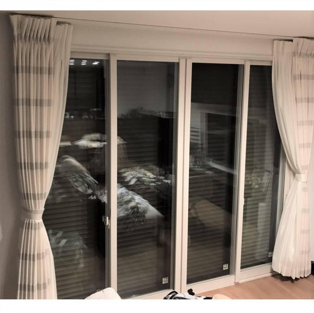 窓工房テラムラのリビングの大きな窓の近くが寒いのでなんとかしたいの施工後の写真1
