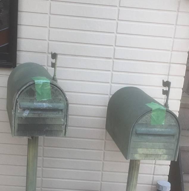 窓工房テラムラのポストが古くなったので新しくしたいの施工前の写真1