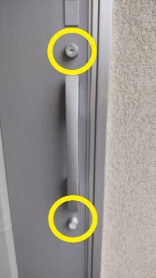 鳴和トーヨー住器のK様邸の【玄関ドアシリンダー】交換完了しました。施工事例写真1