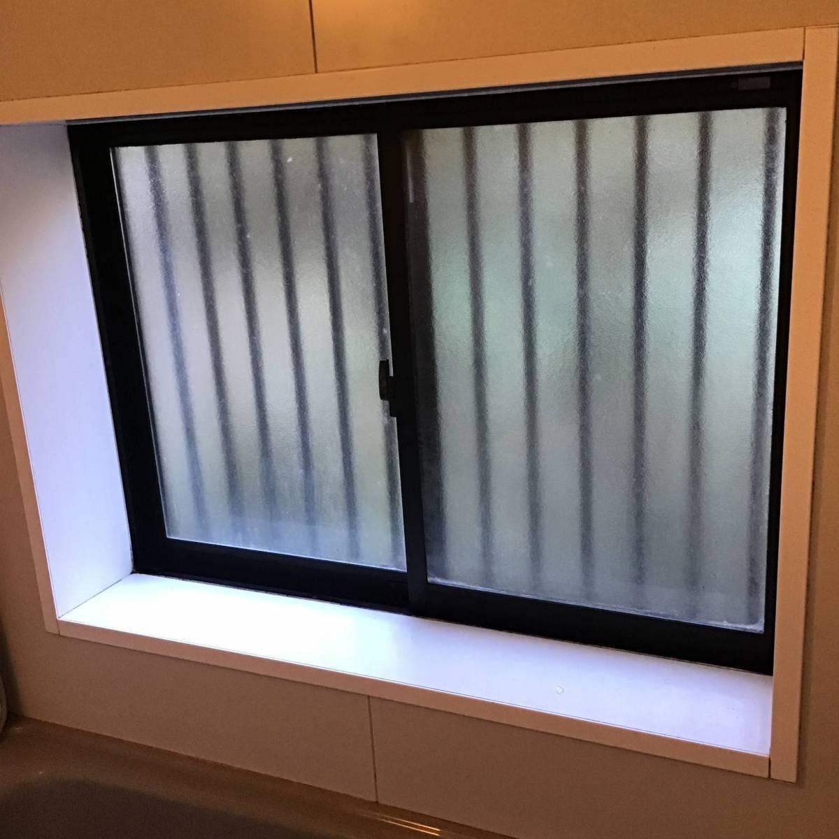 茂木トーヨー住器 宇都宮の浴室サッシを断熱しました。栃木県宇都宮市の施工前の写真1