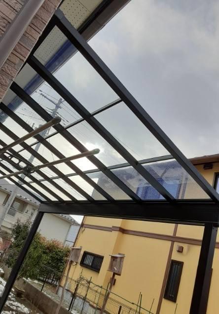 大角屋トーヨー住器の【テラス工事】仙台市 テラスは多目的に使えて便利ですの施工後の写真1