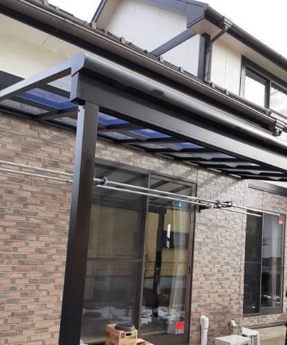 大角屋トーヨー住器の【テラス工事】仙台市 テラスは多目的に使えて便利ですの施工後の写真2
