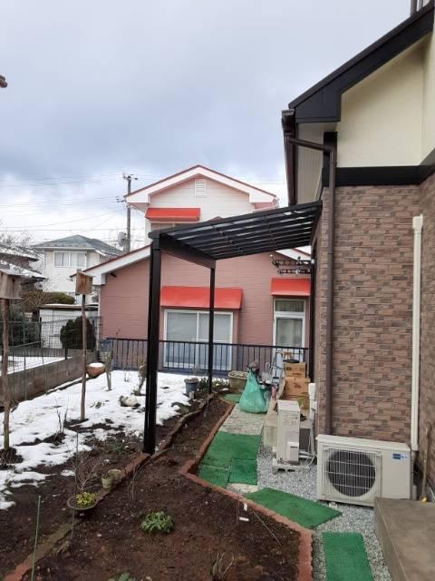 大角屋トーヨー住器の【テラス工事】仙台市 テラスは多目的に使えて便利ですの施工後の写真3