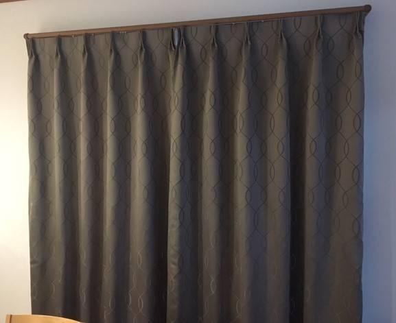 ヒロトーヨー住器のカーテンを付けたい 【ブランシェⅡ】の施工後の写真1